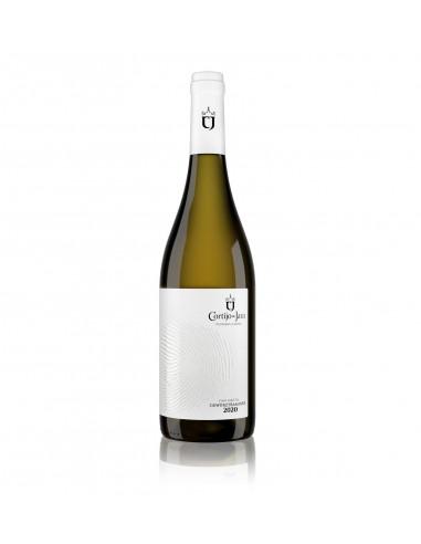 Botella Vino Blanco Cortijo de Jara 2020.