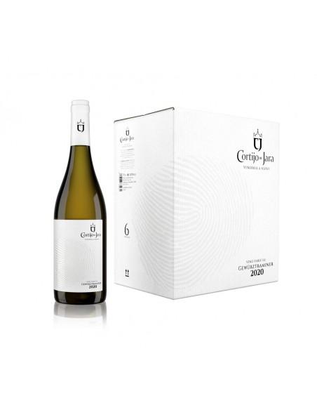 Pack 6 Botellas Vino Blanco Cortijo de Jara 2020.